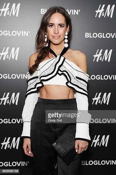 TV personality Louise Roe attends the Blog Lovin' Awards at Industria Superstudio on September 12 2016 in New York City