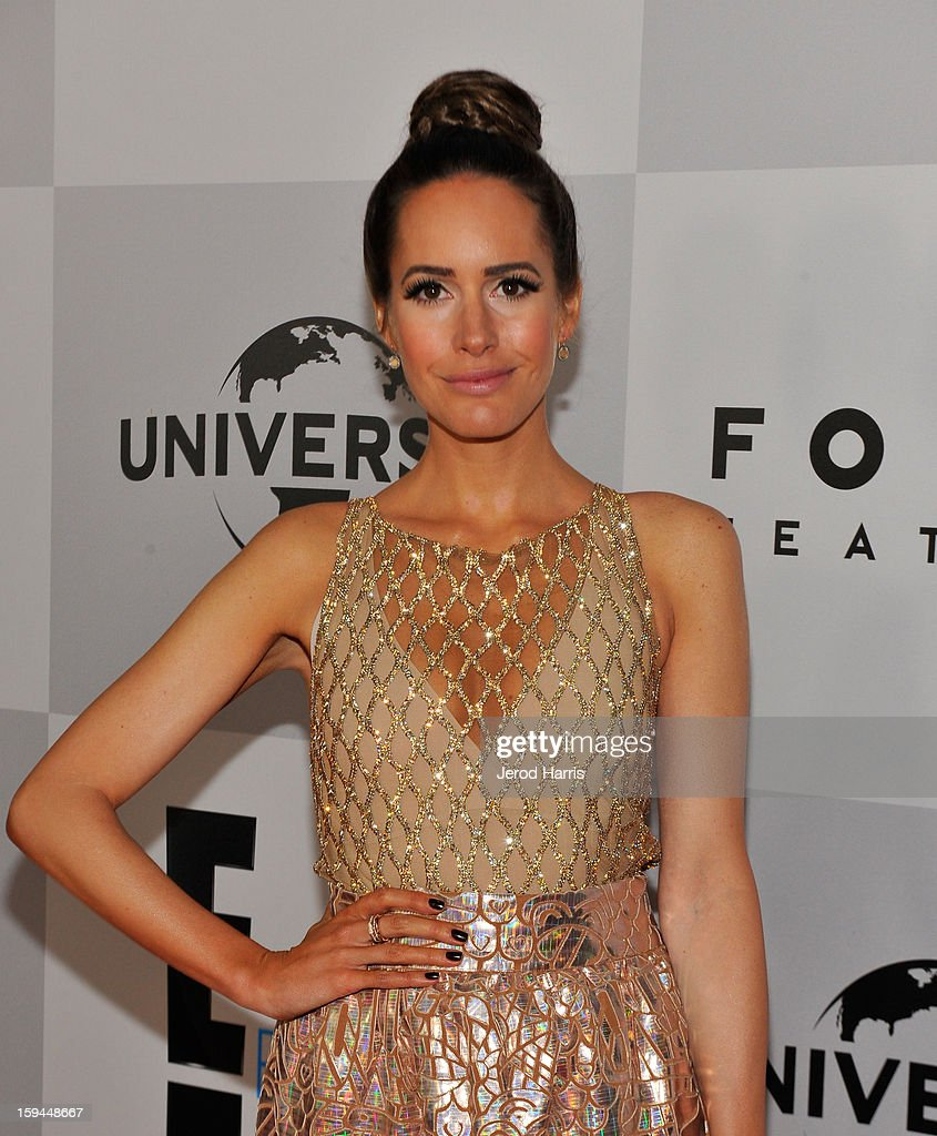 TV personality Louise Roe attends the NBCUniversal Golden Globes viewing and after party held at The Beverly Hilton Hotel on January 13, 2013 in Beverly Hills, California.