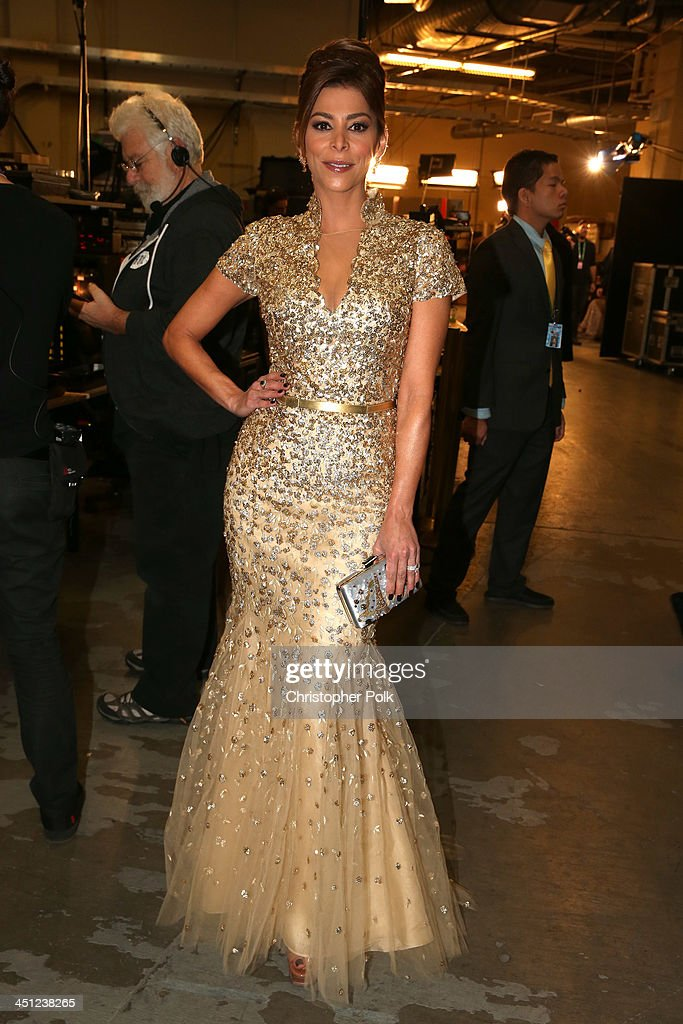 TV personality Lourdes Stephen arrives at the 14th Annual Latin GRAMMY Awards held at the Mandalay Bay Convention Center on November 21, 2013 in Las Vegas, Nevada.
