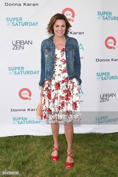 TV personality Luann D'Agostino attends OCRFA's 20th Annual Super Saturday to Benefit Ovarian Cancer on July 29 2017 in Watermill New York