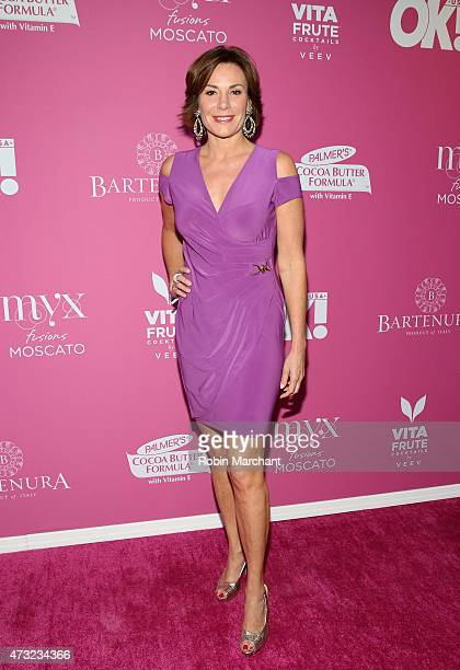 Personality LuAnn de Lesseps attends OK Magazine's So Sexy NYC Event at HAUS Nightclub on May 13 2015 in New York City
