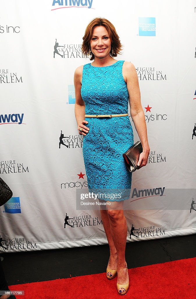 TV personality LuAnn de Lesseps attends the 2013 Skating With The Stars Benefit Gala at Trump Rink at Central Park on April 8, 2013 in New York City.