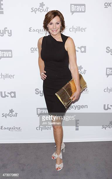 Personality LuAnn de Lesseps attends the 2015 NBCUniversal Cable Entertainment Upfront at The Jacob K Javits Convention Center on May 14 2015 in New...