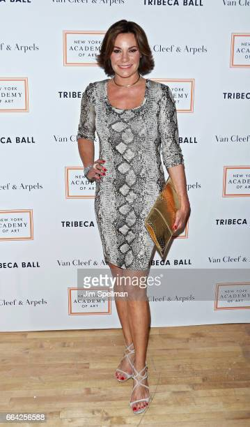 TV personality Luann de Lesseps attends the 2017 TriBeCa Ball at The New York Academy of Art on April 3 2017 in New York City