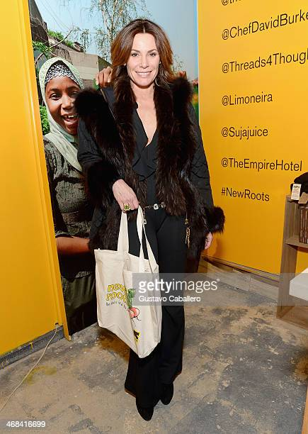 TV personality LuAnn de Lesseps attends the IRC New Roots PopUp featuring Chef David Burke on February 10 2014 in New York City