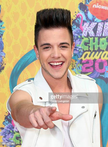 TV personality Luca Hanni attends Nickelodeon's 27th Annual Kids' Choice Awards at USC Galen Center on March 29 2014 in Los Angeles California