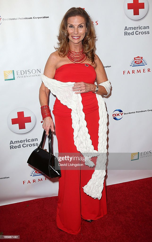 TV personality Lynda Erkiletian attends the 7th Annual American Red Cross Red Tie Affair at the Fairmont Miramar Hotel on April 6, 2013 in Santa Monica, California.
