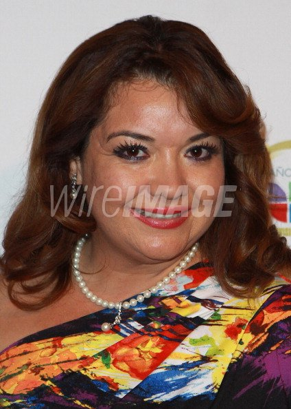 Personality Magaly Ortiz attends KMEX Univision 34 50th