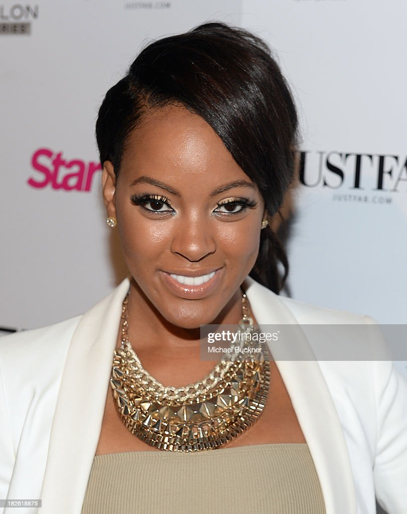 TV personality Malaysia Pargo attends Star Scene Stealers Event at Tropicana Bar at The Hollywood Rooselvelt Hotel on October 1, 2013 in Hollywood, California.