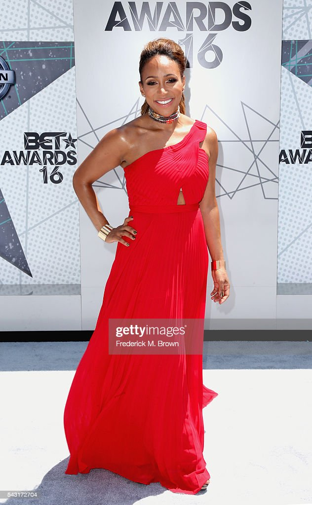 TV personality Mara Schiavocampo attends the 2016 BET Awards at the Microsoft Theater on June 26, 2016 in Los Angeles, California.