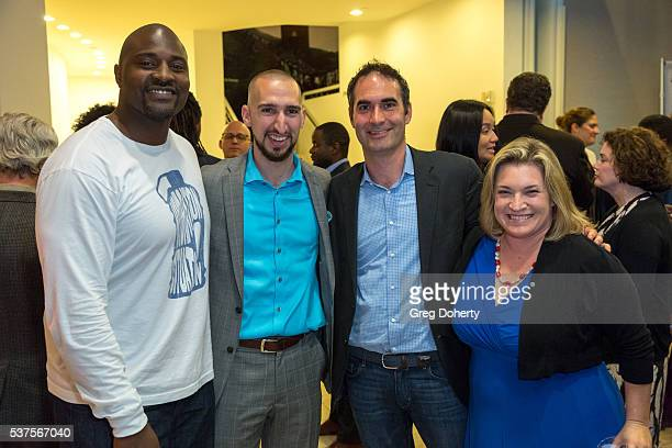 ESPN personality Marcellus Wiley On Air Talent for FS1 Nick Wright SVP ESPN Films and Original Content Connor Schell and ESPN writer Ramona Shelburne...