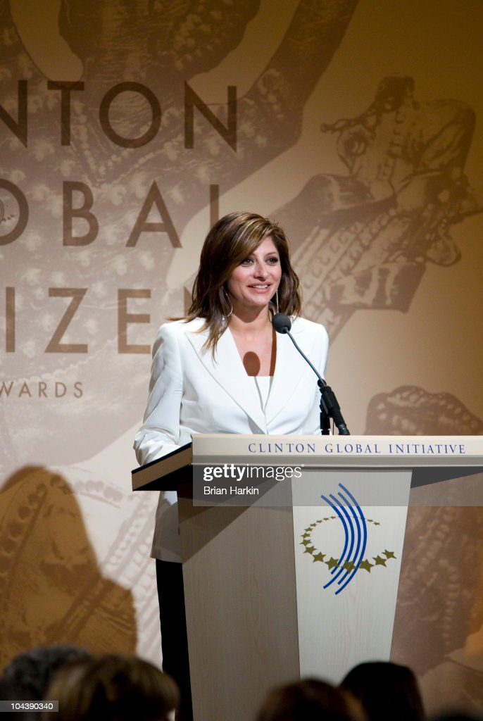 TV personality Maria Bartiromo speaks during the Clinton Global Citizens Awards at the conclusion to the annual Clinton Global Initiative (CGI) on September 23, 2010 in New York City. The sixth annual meeting of the CGI gathers prominent individuals in politics, business, science, academics, religion and entertainment to discuss global issues such as climate change and the reconstruction of Haiti. The event, founded by Clinton after he left office, is held the same week as the General Assembly at the United Nations, when most world leaders are in New York City.