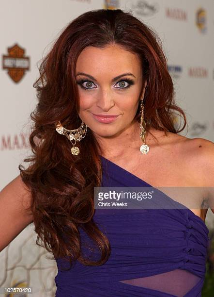TV Personality Maria Kanellis arrives at the 11th annual Maxim Hot 100 Party with HarleyDavidson ABSOLUT VODKA Ed Hardy Fragrances and ROGAINE held...