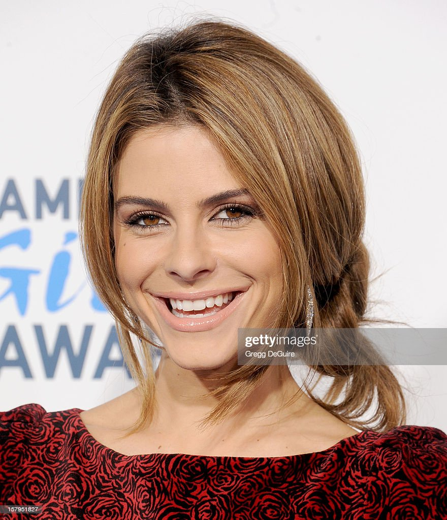 TV personality Maria Menounos arrives at the 2nd Annual American Giving Awards at the Pasadena Civic Auditorium on December 7, 2012 in Pasadena, California.