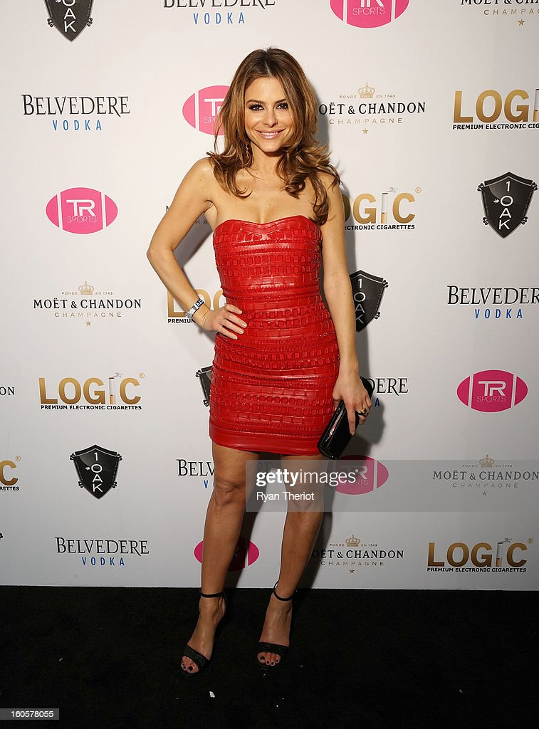 TV personality <a gi-track='captionPersonalityLinkClicked' href=/galleries/search?phrase=Maria+Menounos&family=editorial&specificpeople=203337 ng-click='$event.stopPropagation()'>Maria Menounos</a> attends 1 OAK New Orleans Presented By LOGIC Electronic Cigarettes at Jax Brewery on February 2, 2013 in New Orleans, Louisiana.