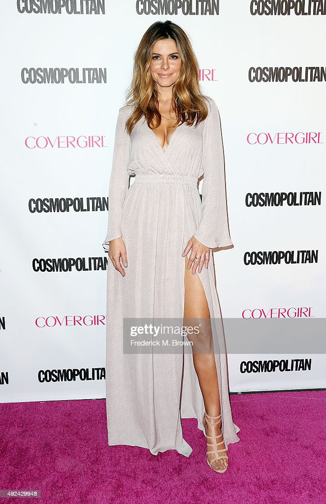 TV Personality Maria Menounos attends Cosmopolitan's 50th Birthday Celebration at Ysabel on October 12, 2015 in West Hollywood, California.