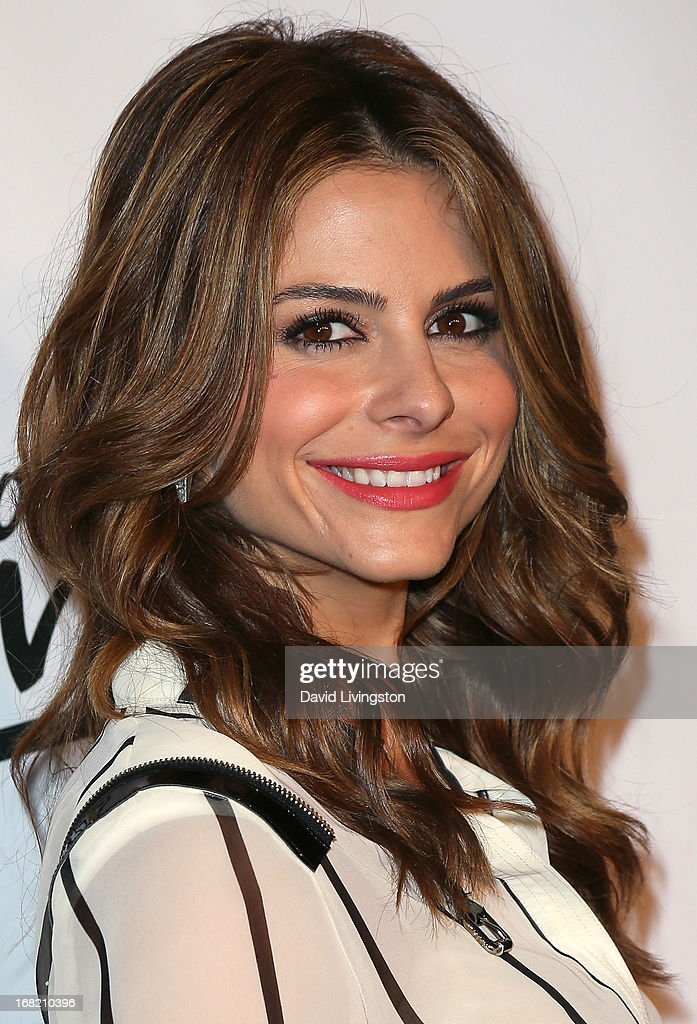 TV personality <a gi-track='captionPersonalityLinkClicked' href=/galleries/search?phrase=Maria+Menounos&family=editorial&specificpeople=203337 ng-click='$event.stopPropagation()'>Maria Menounos</a> attends Lay's 'Do Us a Flavor' contest hosted by Eva Longoria at Beso on May 6, 2013 in Hollywood, California.