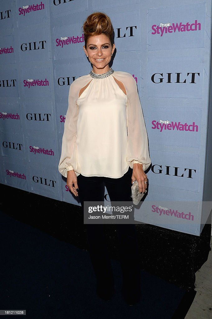 TV Personality Maria Menounos attends People StyleWatch Denim Awards presented by GILT at Palihouse on September 19, 2013 in West Hollywood, California.