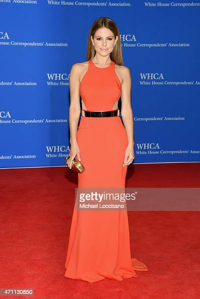 TV personality Maria Menounos attends the 101st Annual White House Correspondents' Association Dinner at the Washington Hilton on April 25 2015 in...