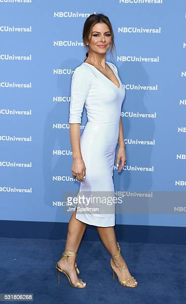 TV personality Maria Menounos attends the 2016 NBCUNIVERSAL Upfront at Radio City Music Hall on May 16 2016 in New York City