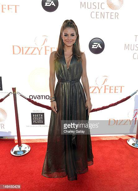 TV personality Maria Menounos attends the 2nd Annual Dizzy Feet Foundation's Celebration of Dance Gala at Dorothy Chandler Pavilion on July 28 2012...