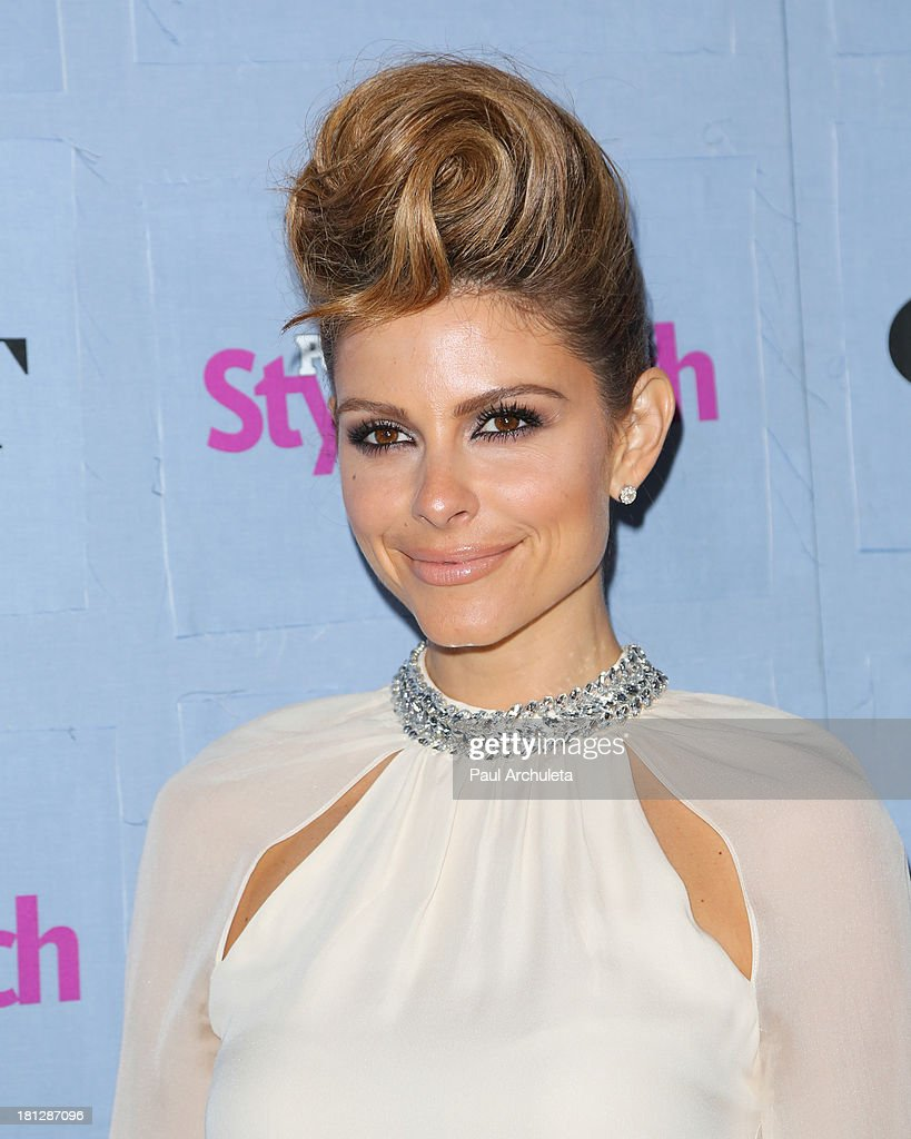 TV Personality Maria Menounos attends the People StyleWatch 3rd annual Denim Issue party at Palihouse on September 19, 2013 in West Hollywood, California.