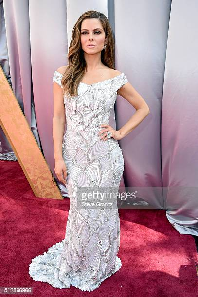 TV personality Maria Menounos wears a custom Christian Siriano for Stella Artois gown inspired by the limitededition Chalices benefiting Waterorg...