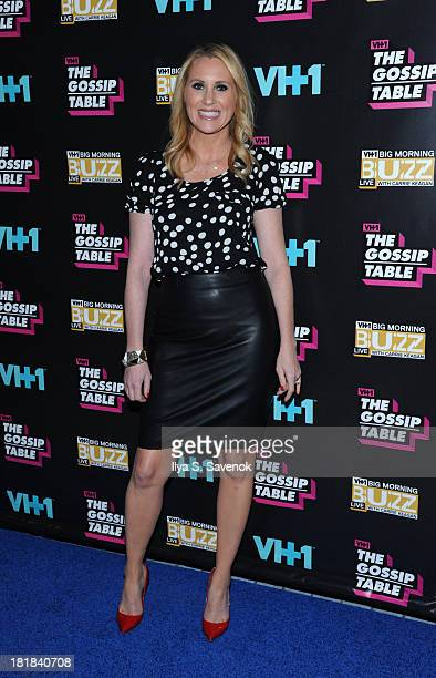 TV personality Marianne Garvey attends the Big Morning Buzz Live And The Gossip Table Premiere on September 25 2013 in New York City