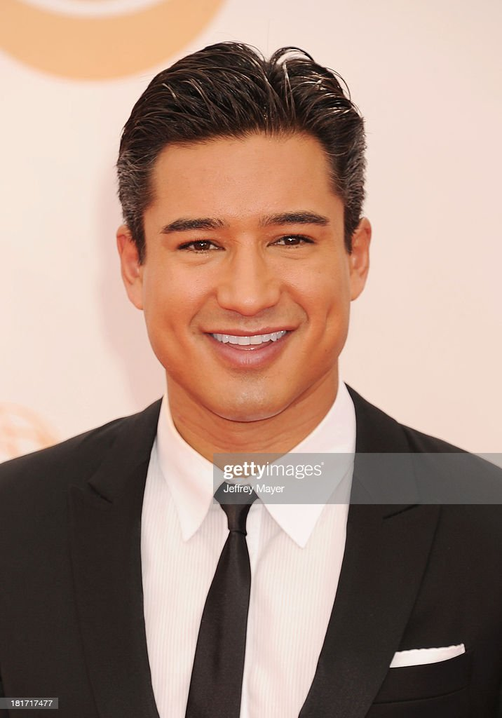 TV personality Mario Lopez arrives at the 65th Annual Primetime Emmy Awards at Nokia Theatre LA Live on September 22 2013 in Los Angeles California