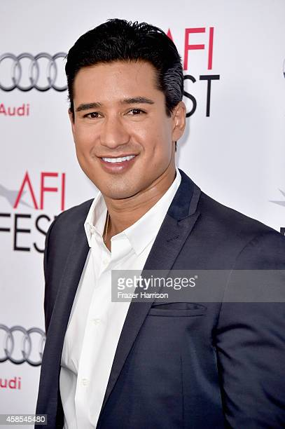TV personality Mario Lopez attends AFI FEST 2014 presented by Audi opening night gala premiere of A24's 'A Most Violent Year' at Dolby Theatre on...