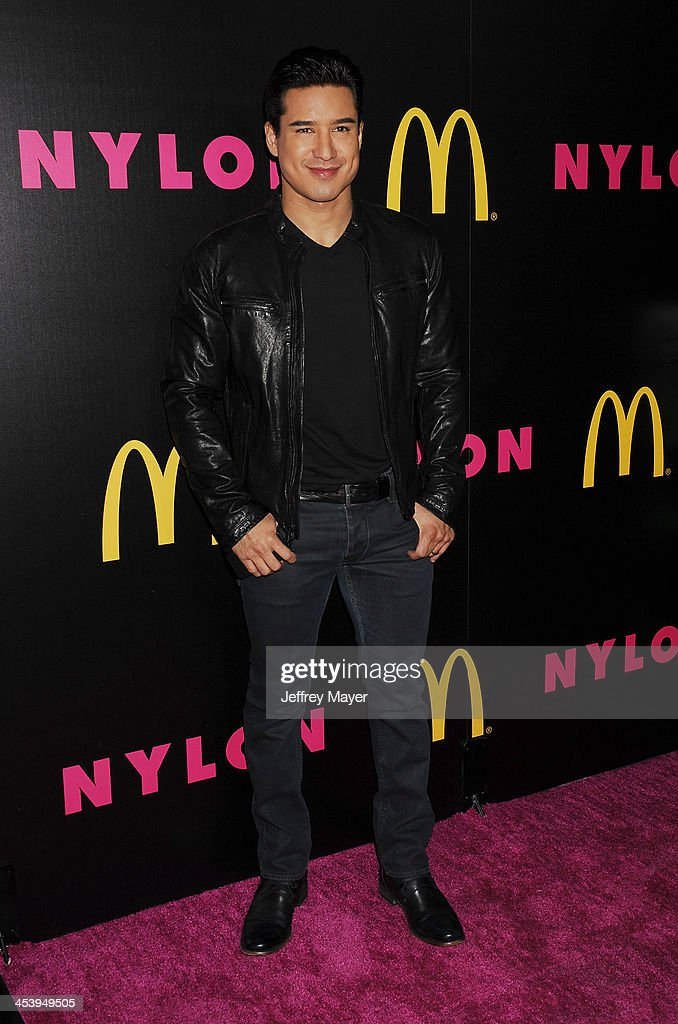 TV personality <a gi-track='captionPersonalityLinkClicked' href=/galleries/search?phrase=Mario+Lopez&family=editorial&specificpeople=235992 ng-click='$event.stopPropagation()'>Mario Lopez</a> attends NYLON + McDonald's Dec/Jan issue launch party, hosted by cover star Demi Lovato at Quixote Studios on December 5, 2013 in West Hollywood, California.