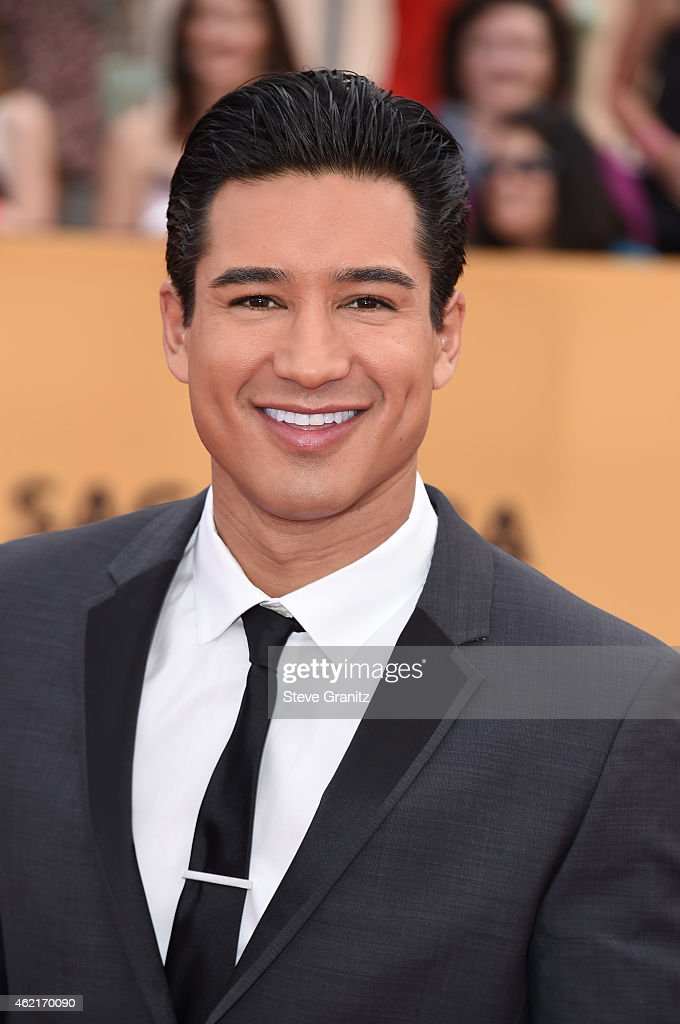 TV personality Mario Lopez attends the 21st Annual Screen Actors Guild Awards at The Shrine Auditorium on January 25 2015 in Los Angeles California