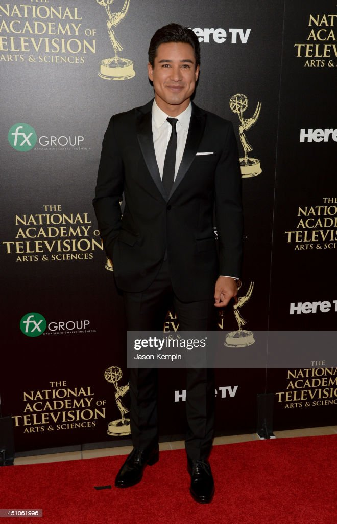 TV personality Mario Lopez attends The 41st Annual Daytime Emmy Awards at The Beverly Hilton Hotel on June 22, 2014 in Beverly Hills, California.