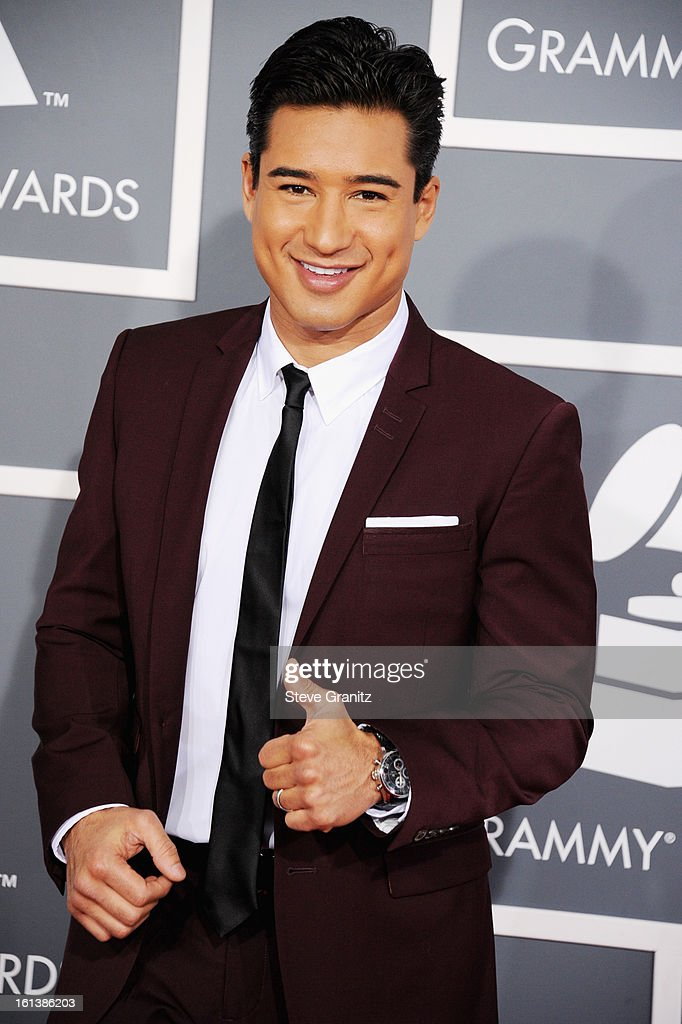 TV personality Mario Lopez attends the 55th Annual GRAMMY Awards at STAPLES Center on February 10, 2013 in Los Angeles, California.