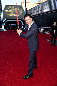 """TV personality Mario Lopez attends the World Premiere of """"Star Wars The Force Awakens"""" at the Dolby El Capitan and TCL Theatres on December 14 2015..."""