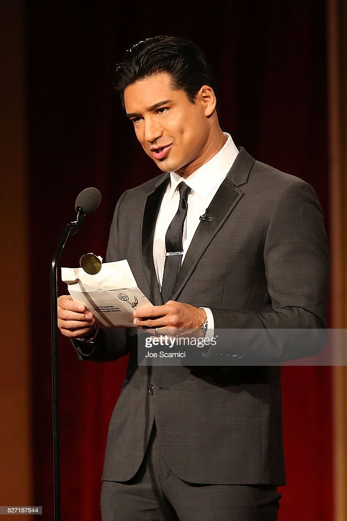 TV personality Mario Lopez speaks onstage at the 2016 Daytime Emmy Awards at Westin Bonaventure Hotel on May 1, 2016 in Los Angeles, California.