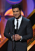 TV personality Mario Lopez speaks onstage during The 42nd Annual Daytime Emmy Awards at Warner Bros Studios on April 26 2015 in Burbank California