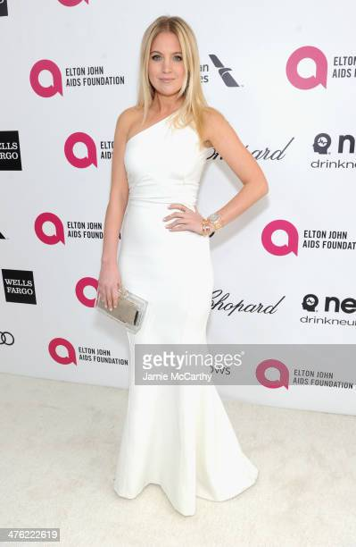 TV personality Marissa Montgomery attends the 22nd Annual Elton John AIDS Foundation Academy Awards Viewing Party at The City of West Hollywood Park...