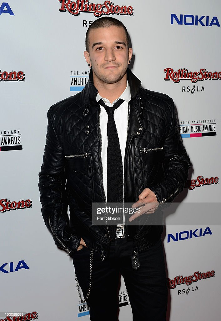 TV personality <a gi-track='captionPersonalityLinkClicked' href=/galleries/search?phrase=Mark+Ballas&family=editorial&specificpeople=4531129 ng-click='$event.stopPropagation()'>Mark Ballas</a> arrives at Rolling Stone Magazine Official 2012 American Music Awards VIP After Party presented by Nokia and Rdio at Rolling Stone Restaurant And Lounge on November 18, 2012 in Los Angeles, California.