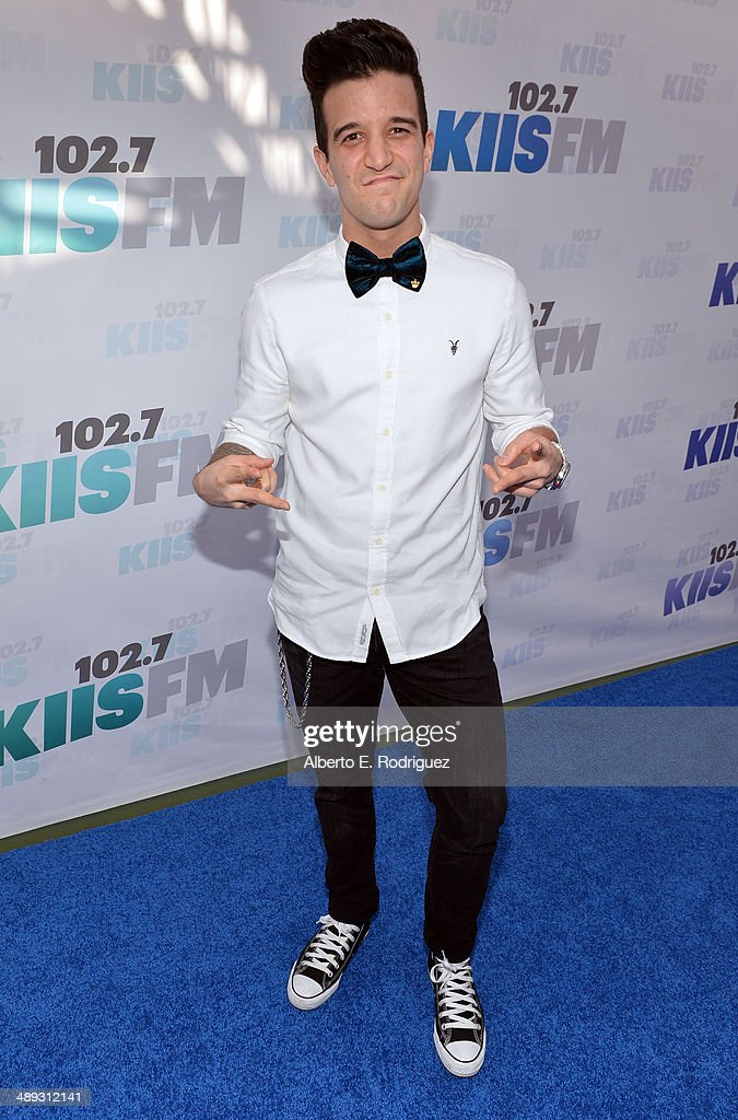 TV personality Mark Ballas attends 1027 KIIS FM's 2014 Wango Tango at StubHub Center on May 10 2014 in Los Angeles California