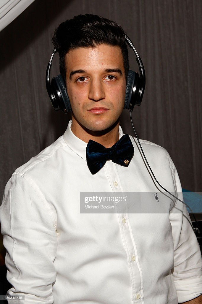 TV personality <a gi-track='captionPersonalityLinkClicked' href=/galleries/search?phrase=Mark+Ballas&family=editorial&specificpeople=4531129 ng-click='$event.stopPropagation()'>Mark Ballas</a> with Flips Audio, the exclusive headphone sponsor of 102.7 KIIS FM's 2014 Wango Tango, backstage at StubHub Center on May 10, 2014 in Los Angeles, California.