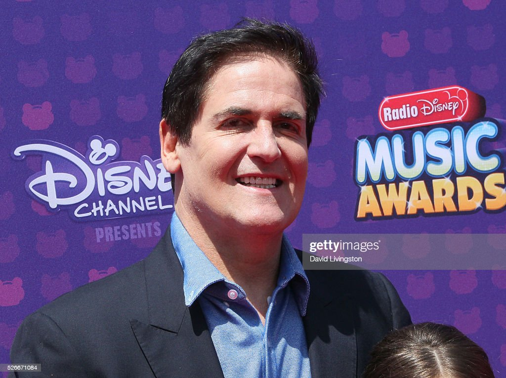 TV Personality Mark Cuban attends the 2016 Radio Disney Music Awards at Microsoft Theater on April 30, 2016 in Los Angeles, California.