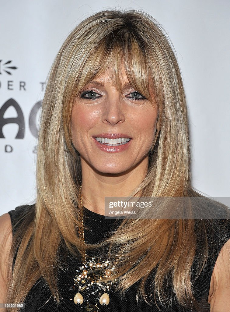 TV personality Marla Maples arrives at the opening night of 'Jekyll & Hyde' held at the Pantages Theatre on February 12, 2013 in Hollywood, California.
