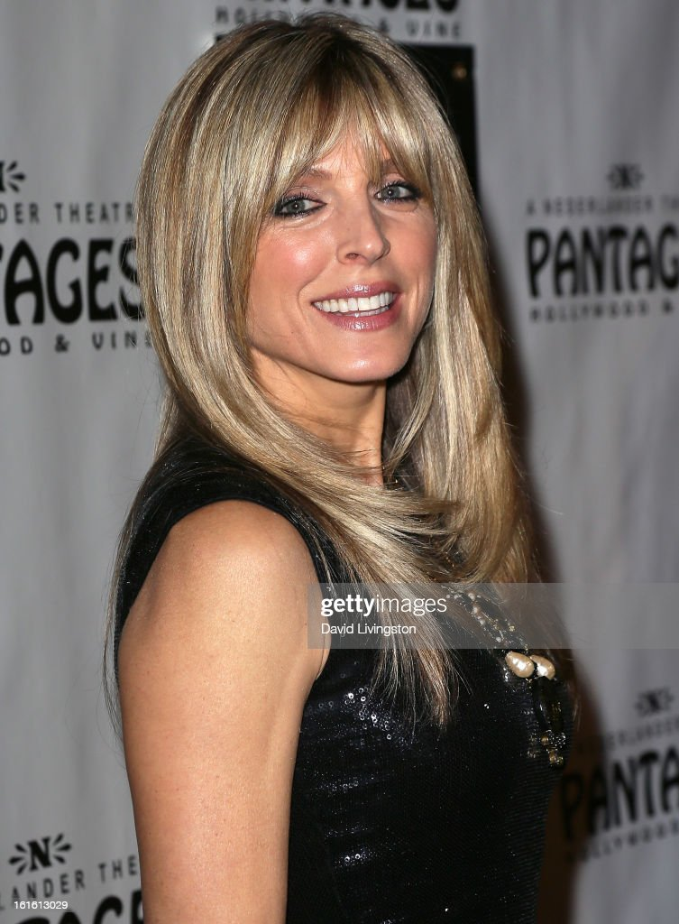 TV personality Marla Maples attends the opening night of 'Jekyll & Hyde' at the Pantages Theatre on February 12, 2013 in Hollywood, California.