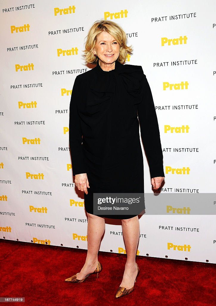 TV personality <a gi-track='captionPersonalityLinkClicked' href=/galleries/search?phrase=Martha+Stewart&family=editorial&specificpeople=202905 ng-click='$event.stopPropagation()'>Martha Stewart</a> attends the 2013 Pratt Institute Gala at Mandarin Oriental Hotel on November 11, 2013 in New York City.