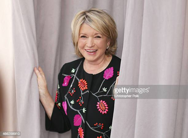 TV personality Martha Stewart attends The Comedy Central Roast of Justin Bieber at Sony Pictures Studios on March 14 2015 in Los Angeles California