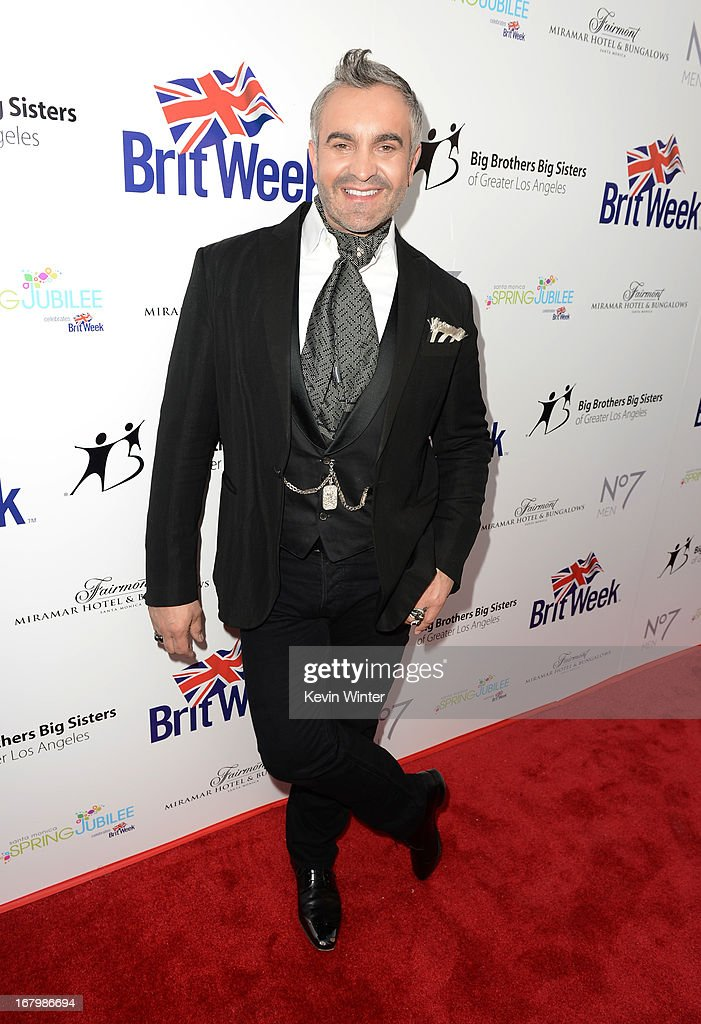 TV personality Martyn Lawrence Bullard attends the Boots Not Men Launch at Britweek 2013 at The Fairmont Miramar Hotel on May 3, 2013 in Santa Monica, California.