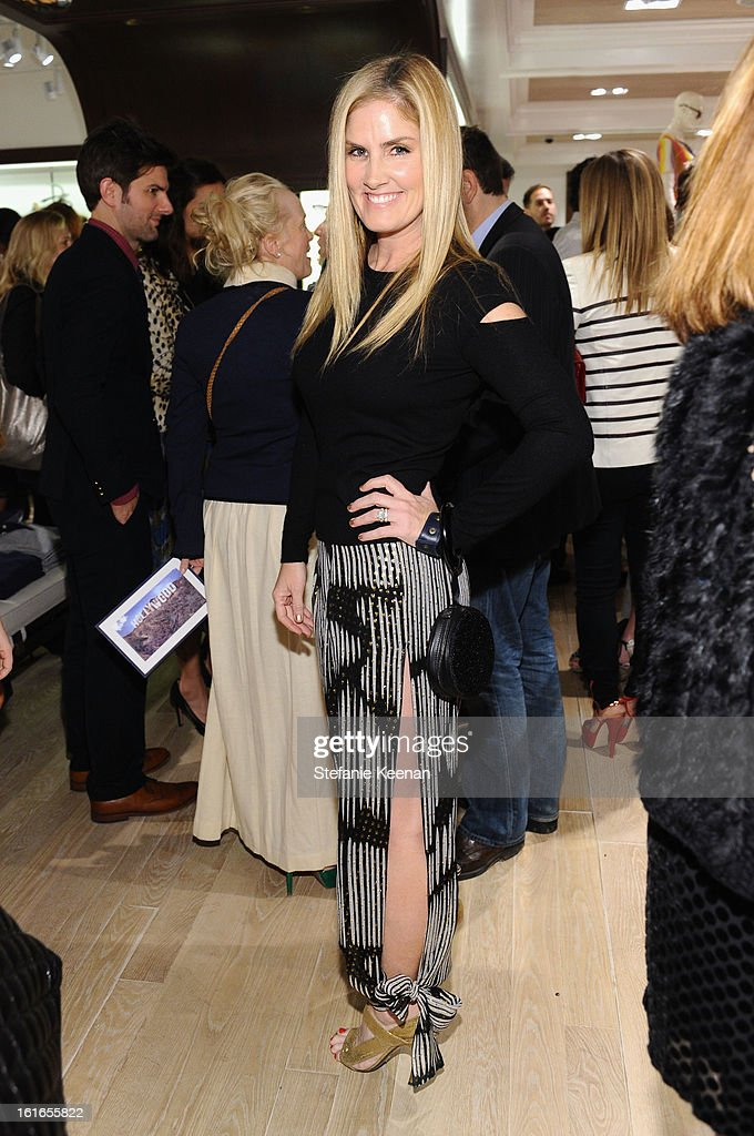 TV Personality Mary Alice Haney attends Tommy Hilfiger New West Coast Flagship Opening on Robertson Boulevard on February 13, 2013 in West Hollywood, California.