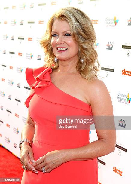 Personality Mary Hart arrives at Dream For Kids Grand Opening Gala supported by AEG and presented by Starz LLC benefitting Children's Hospital Los...