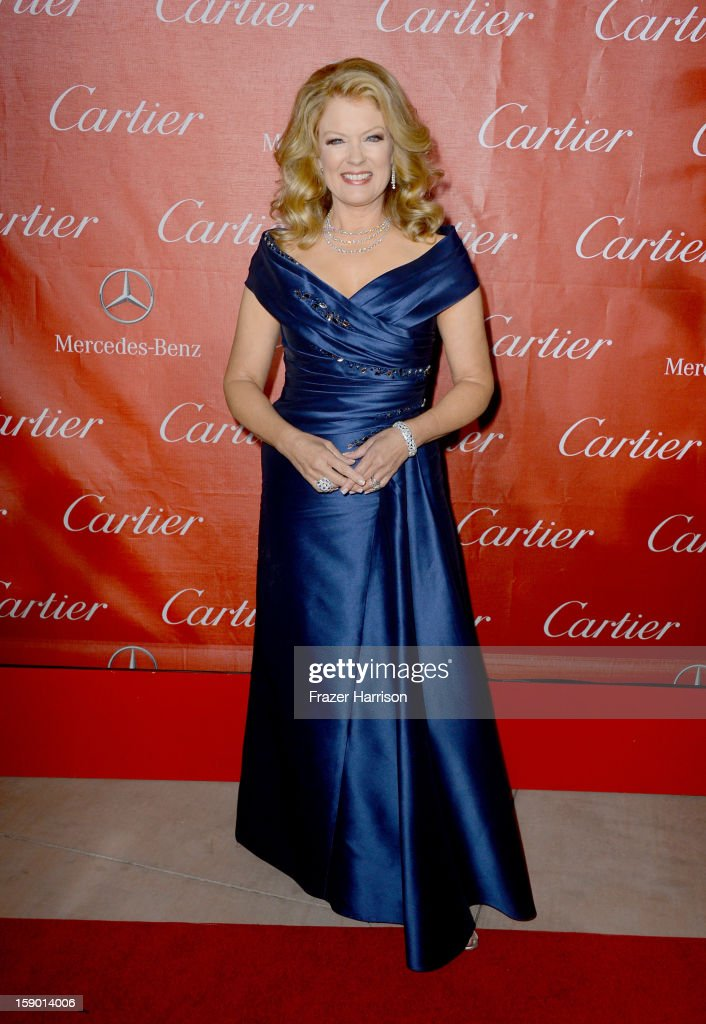 TV Personality Mary Hart arrives at the 24th annual Palm Springs International Film Festival Awards Gala at the Palm Springs Convention Center on January 5, 2013 in Palm Springs, California.